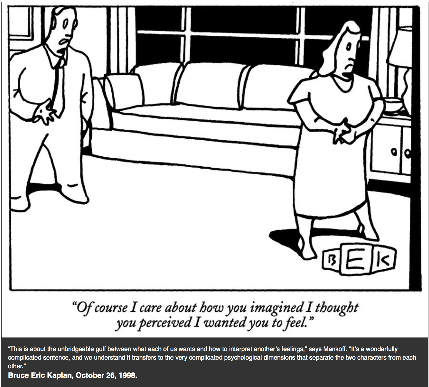 Bob Mankoff picks his 11 favorite New Yorker cartoons ever- Posted ...