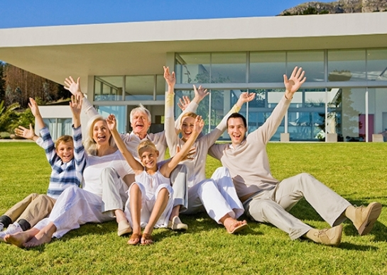 Everyone who'€™s entitled to the good life raise their hands. Photo by Goodshoot/Thinkstock