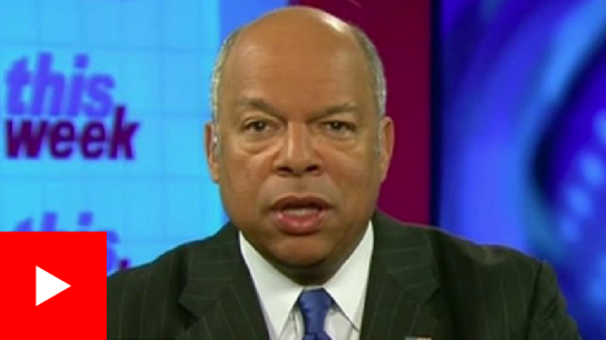 Jeh Johnson told ABC: ''We're in a new phase now''