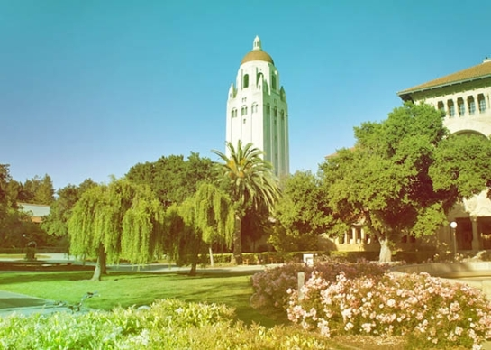 Stanford University in June, 2011. --  Photo illustration by Slate. Photo by Conny Liegl/Flickr https://www.flickr.com/photos/moonsoleil/5817347210
