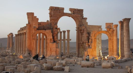 Palmyra is one of the best-known ancient sites in the world