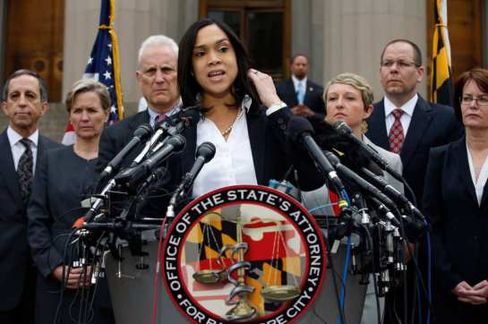 Marilyn Mosby. Photo: Alex Brandon/AP/Corbis