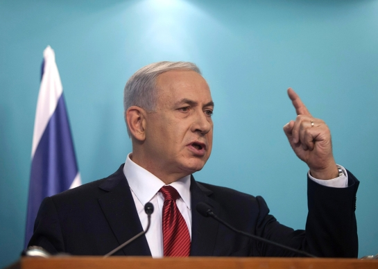 Benjamin Netanyahu should have held his tongue. Above, the Israeli prime minister speaks during a press conference on Nov. 18, 2014, in Jerusalem. Photo by Lior Mizrahi/Getty Images