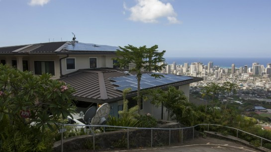 One out of every eight homes in Hawaii has solar.