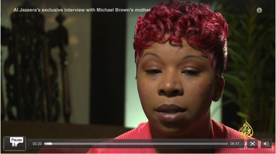 Al Jazeera's exclusive interview with Michael Brown's mother 8:12