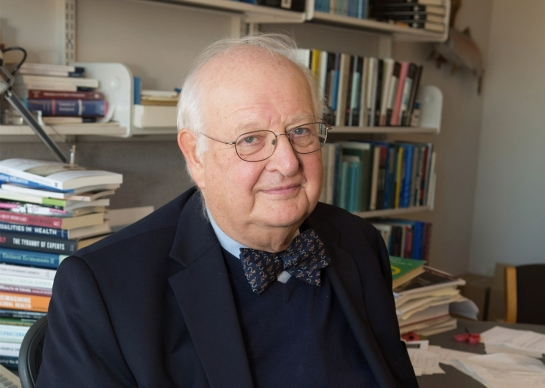 Angus Deaton, winner of the 2015 Nobel Prize in Economics. Photo by Denise Applewhite. Courtesy of the Office of Communications/Princeton University.