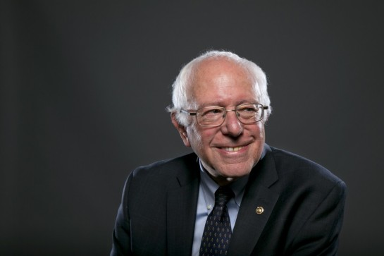 CREDIT: AP PHOTO/JACQUELYN MARTIN Democratic Presidential candidate Sen. Bernie Sanders, I-Vt., poses for a portrait before an interview, Wednesday May 20, 2015, in Washington.