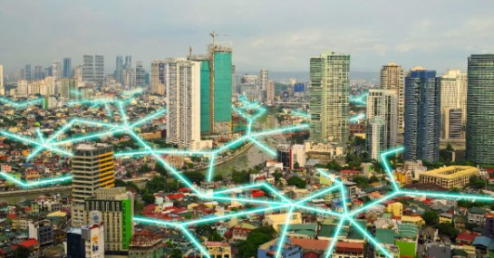 Manila is using the FireChat app to build a city-wide mesh network.  FIRECHAT