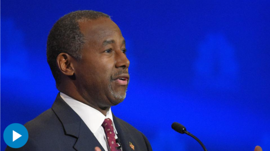 GOP candidate Ben Carson now leads Donald Trump nationally in the new WSJ/NBC News poll. WSJ's Jerry Seib discusses what this means. Photo:AP