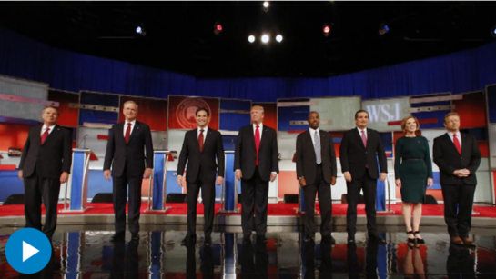 WSJ's Editor-in-Chief Gerard Baker and Washington Bureau Chief Jerry Seib were moderators of the fourth Republican primary debate. They discuss the top political moments and takeaways from the GOP debate. Photo:AP
