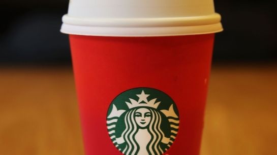The infamous Starbucks red cup.Spencer Platt/Getty Images