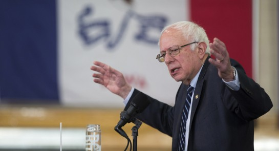 The Clinton campaign believes that Bernie Sanders would fair worse than he's currently polling during the general election.   AP Photo