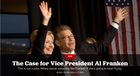 Hillary Clinton at a campaign stop for Al Franken in Minneapolis, October 2008. | Cory Ryan/Getty | Getty