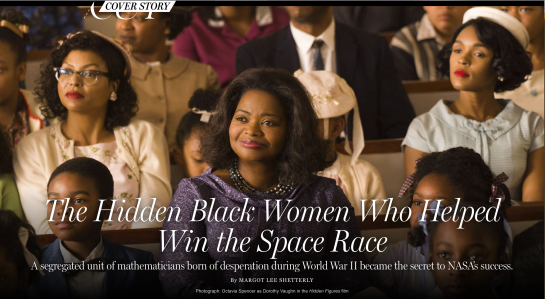 Photograph: Octavia Spencer as Dorothy Vaughn in the Hidden Figures film