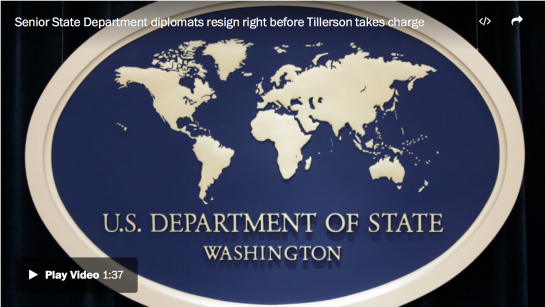 Washington Post senior national security correspondent Karen DeYoung talks about the unexpected resignations of senior State Department officials, and what it means for the Trump administration and international diplomacy. (The Washington Post)