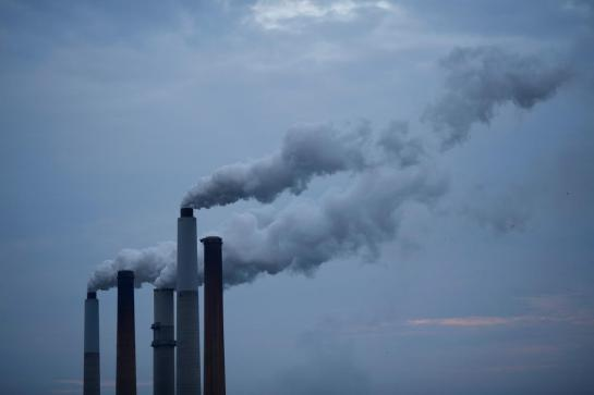 View Images Emissions from a coal-fired power plant in Kentucky hint at the debate over climate change policy in Washington. Photograph by Luke Sharrett, The New York Times, Redux