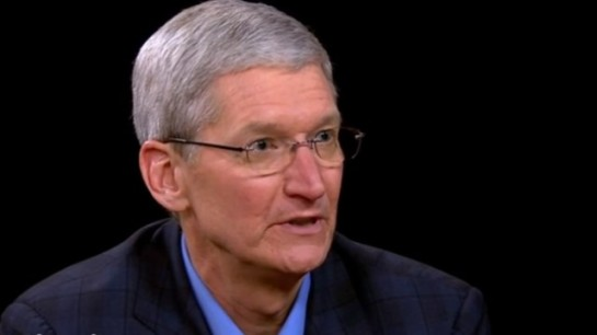 "Apple CEO Tim Cook is calling for a ""massive campaign"" against fake online news stories."